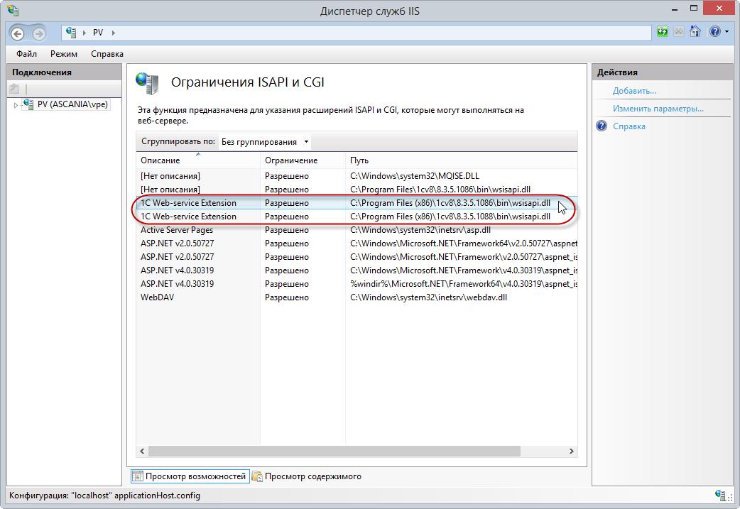 1с кластер публикация веб сервисов iis обслуживание 1с комплексная автоматизация