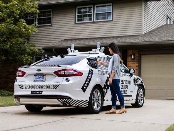В США протестируют доставку пиццы беспилотными автомобилями
