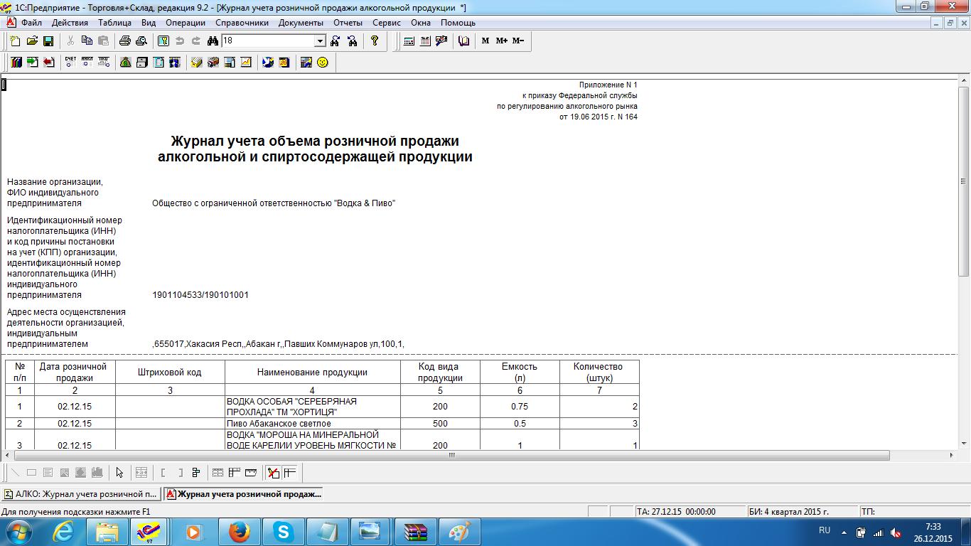 Сертификация и учет алкоголя сертификация продуктов питания законодательство