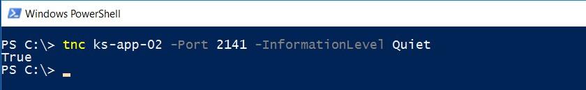 Способы проверки доступности TCP-портов