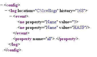 Пример файла настройки ТЖ