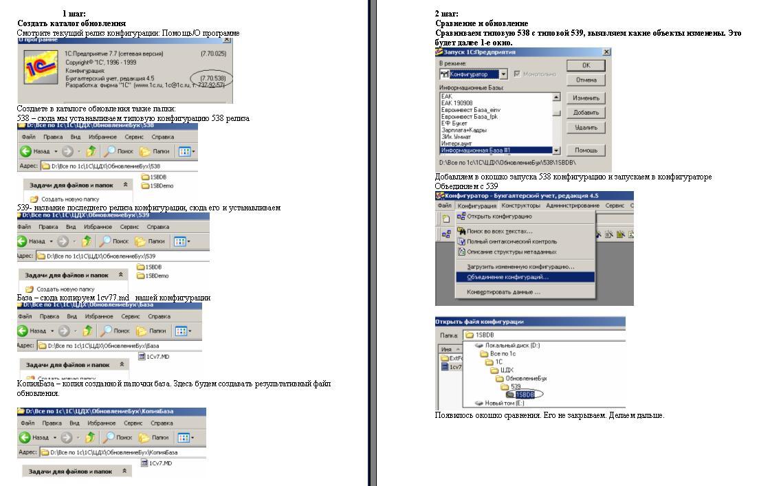 Обновление 1с 7.7 не типовая обновление 1с по ндфл на 2009