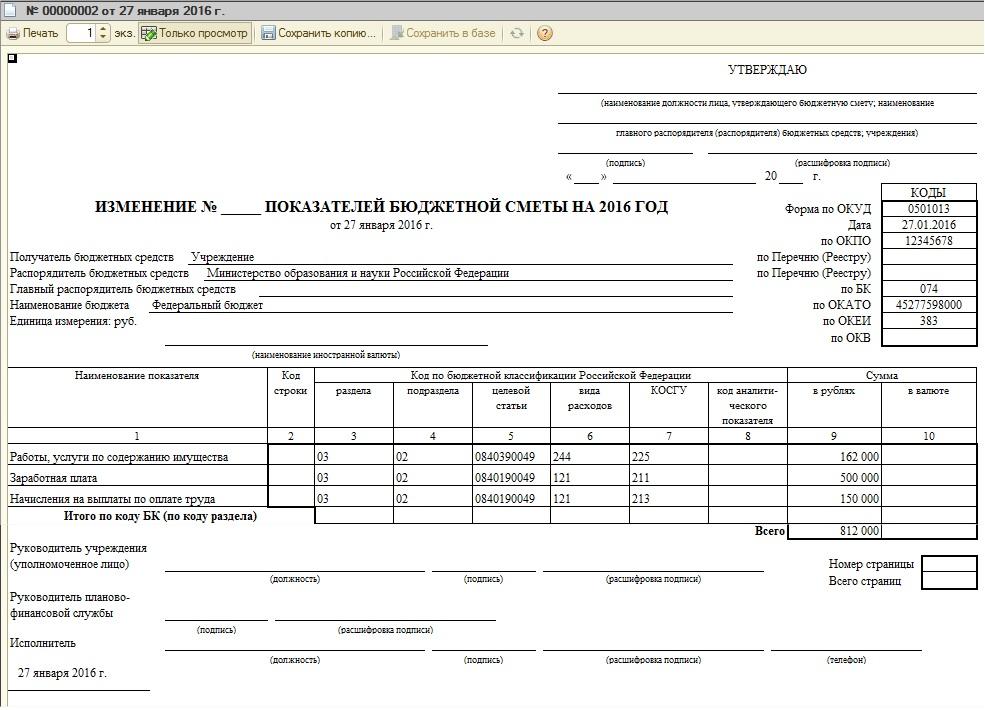 Форма 387 бюджетной отчетности бланк скачать