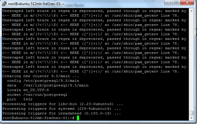Установка 1с postgresql ubuntu зависает 1с при обновлении конфигурации
