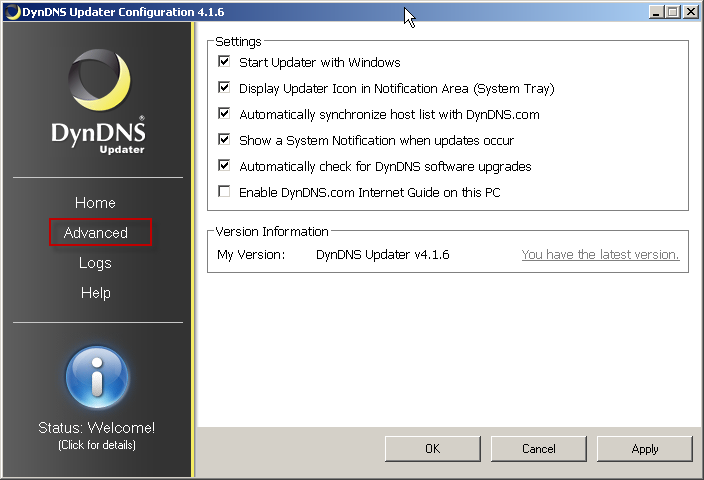 DynDNS Updater Free Download and Reviews - Fileforum
