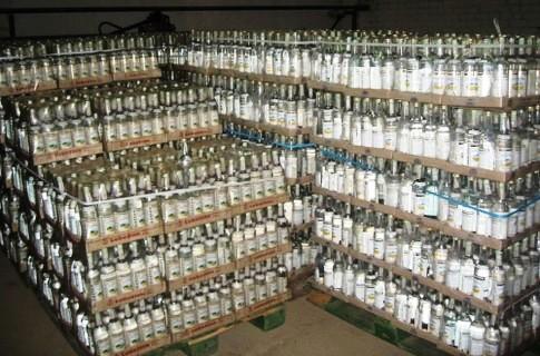 В Ужгороді виявили фальсифікований алкоголь на 300 тисяч